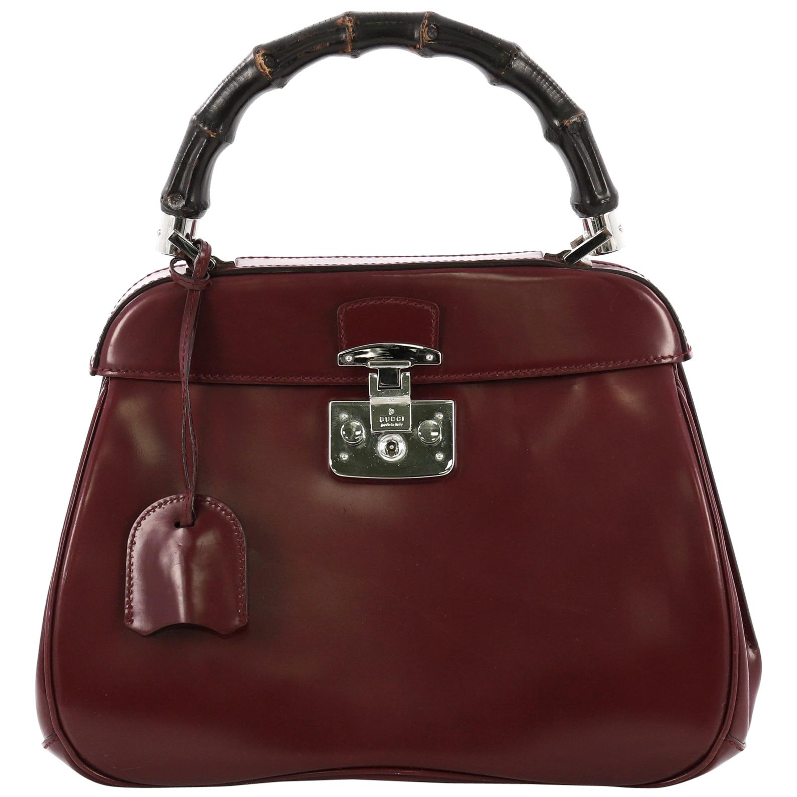 bcbc312e7b0d Purple Leather Handbags - 191 For Sale on 1stdibs