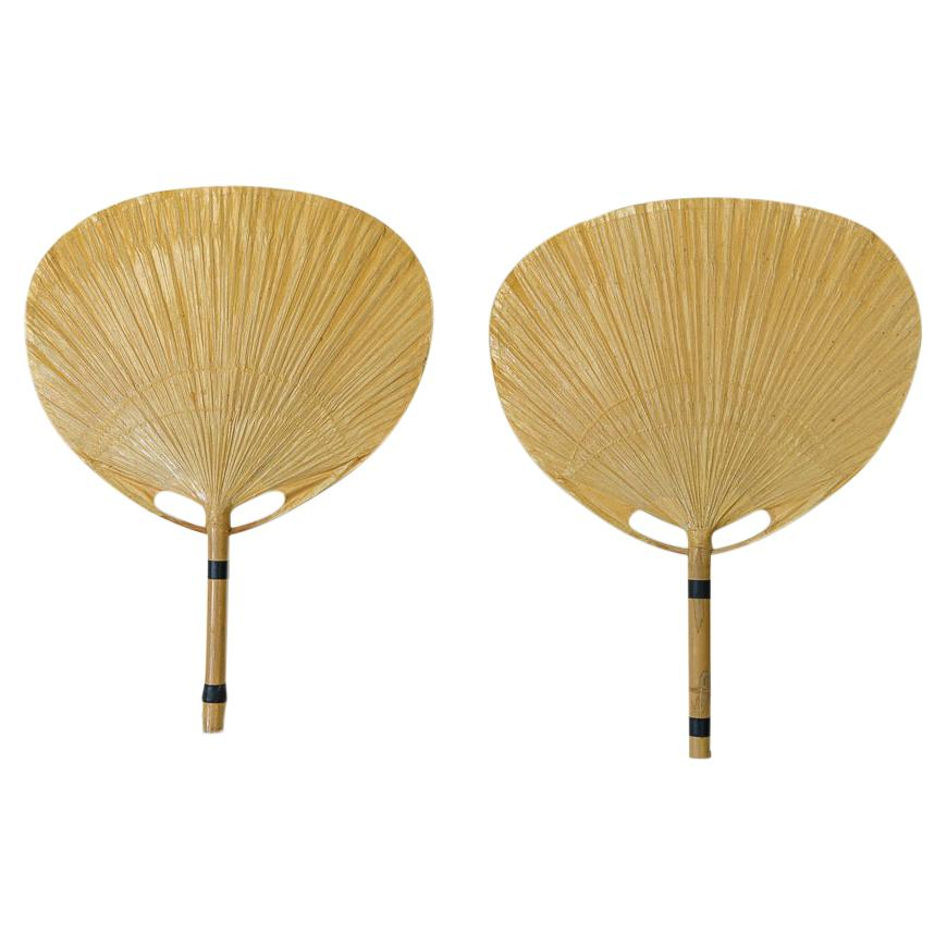 Uchiwa Wall Lamps by Ingo Maurer for Design M, 1970s