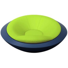U.F.O. Blue and Green Round Armchair