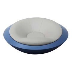 U.F.O. Gray and Blue Round Armchair