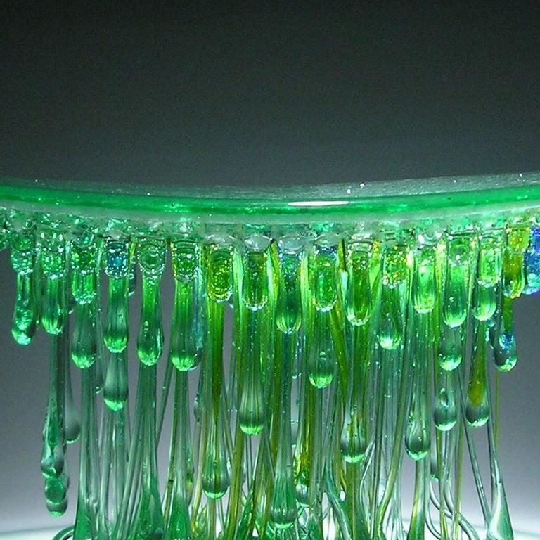 Modern Ufo Verde Centerpiece by Daniela Forti For Sale