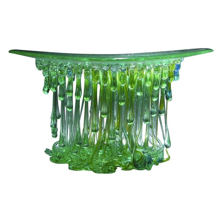 Ufo Verde Centerpiece by Daniela Forti For Sale