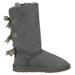 Ugg Australia Woman Boots Grey Leather IT 41