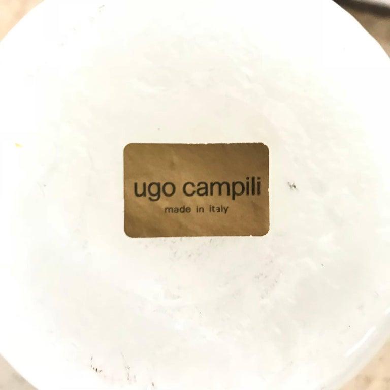 Ugo Campili Murano Glass Vase For Sale 2