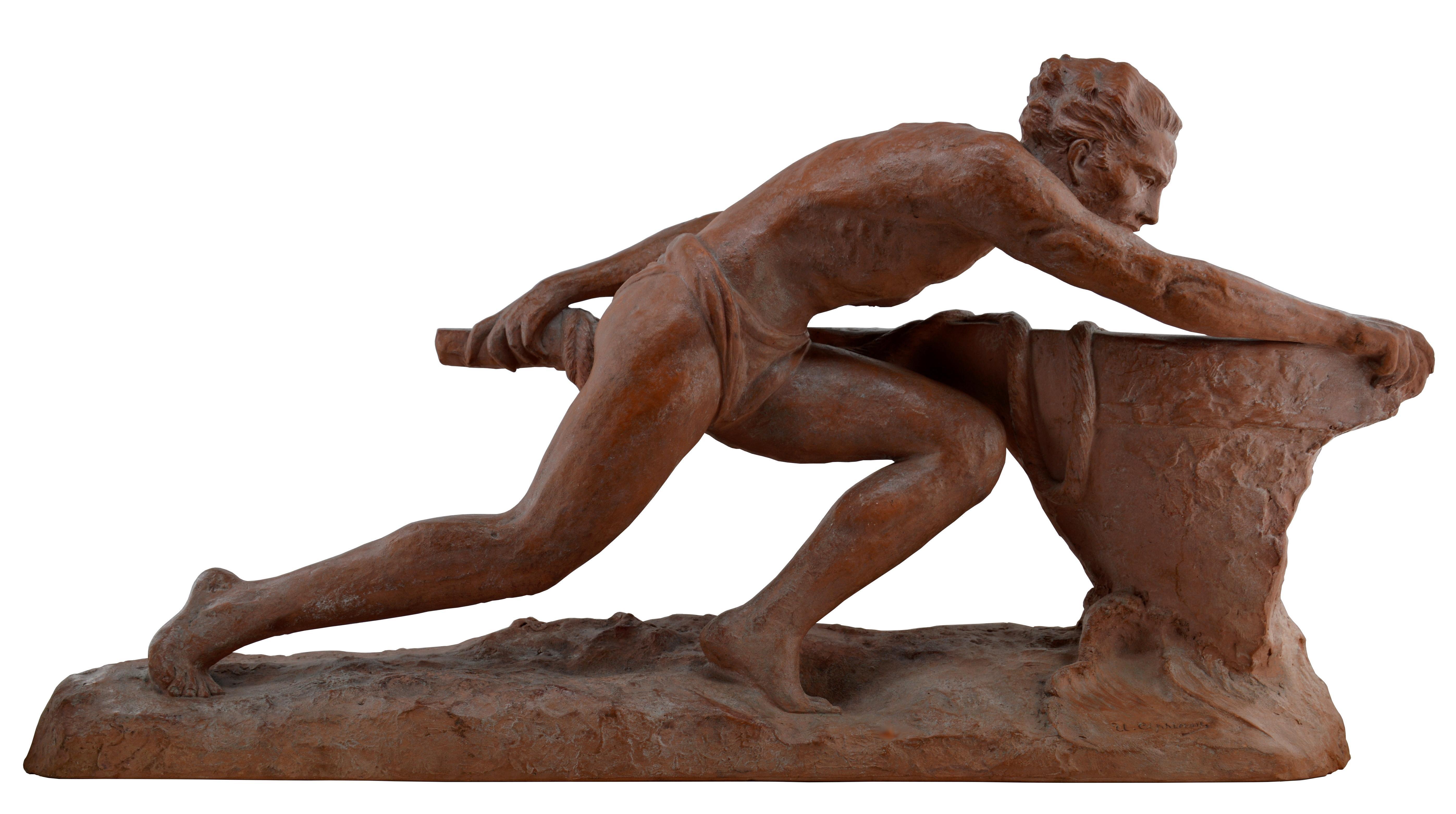 The Rudder, Terracotta, 1930s