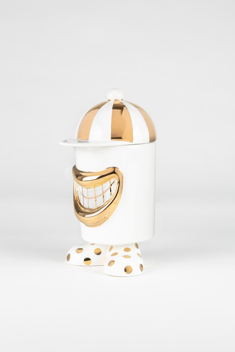 Italian Ugo Container by Andrea Maestri For Sale