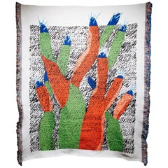 Ugo La Pietra Artificial Nature #2 Recycled Fibers Tapestry