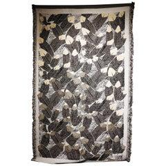 Ugo La Pietra Artificial Nature #4 Cotton Silk Virgin Wool Tapestry