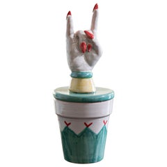 Ugo La Pietra Vasetto Scaramantico Superstitious Little Jar