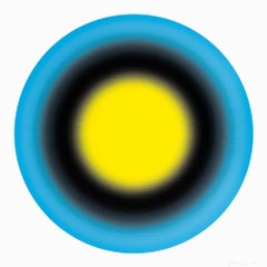 Small Sun 1, 2019 ,Silkscreen in colors 36x36 inches, edition of 30