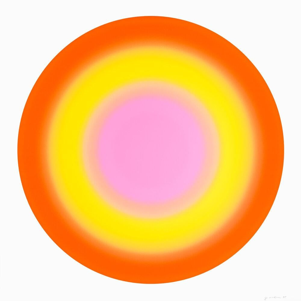 Sun 2, 2019 ,Silkscreen in colors 60x60 inches, edition of 30