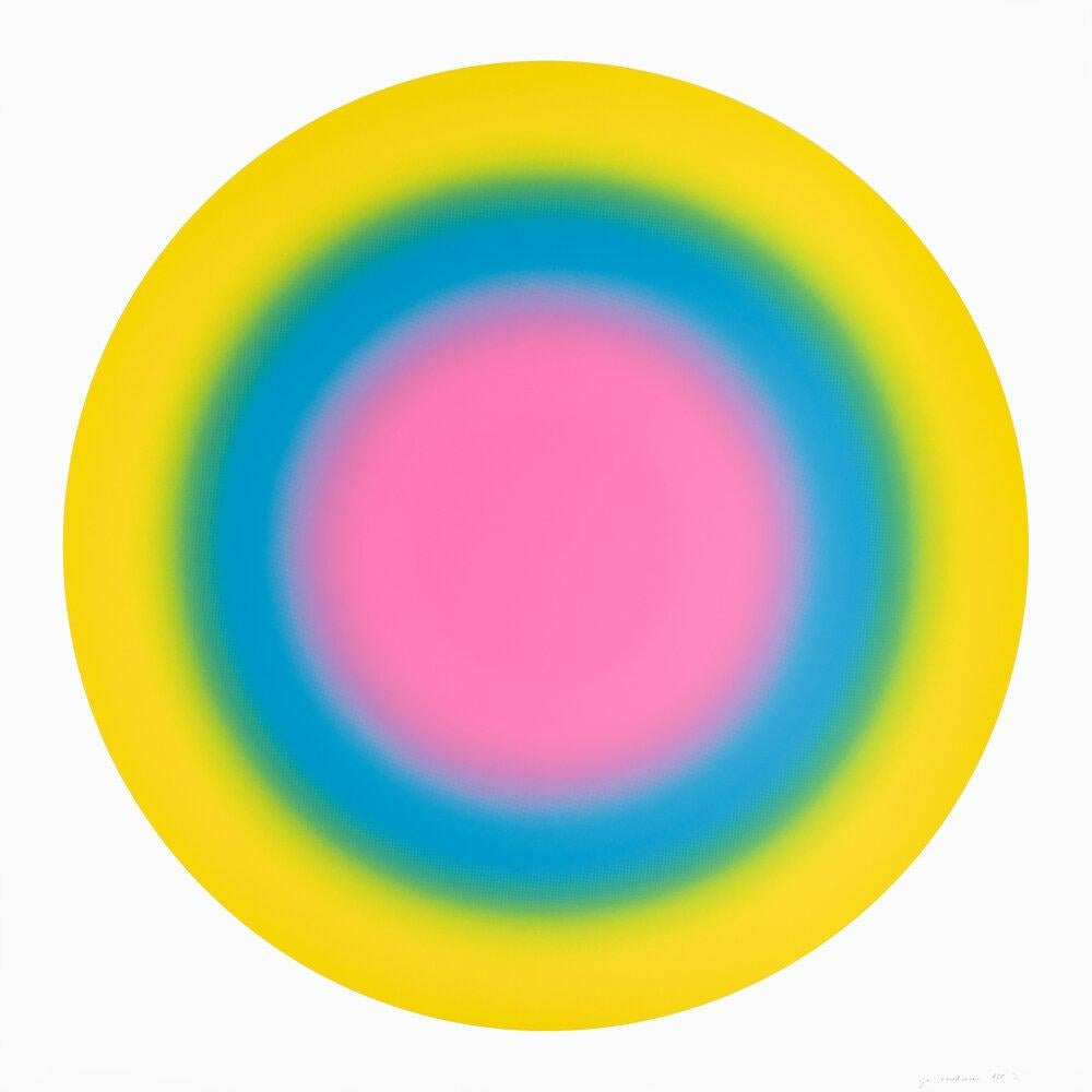 Sun 5, 2019 ,Silkscreen in colors 60x60 inches, edition of 30