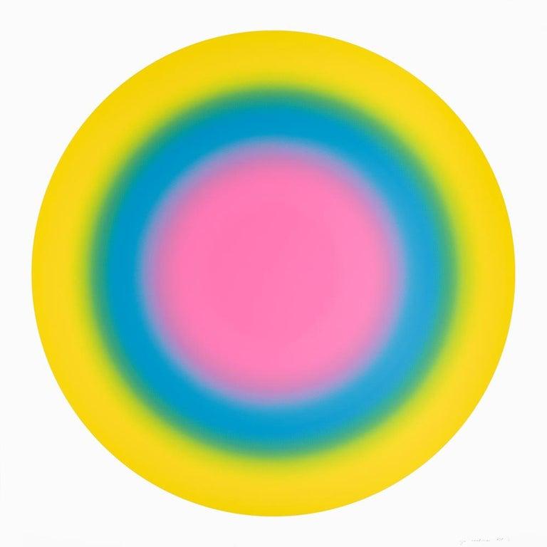 Ugo Rondinone Abstract Print - Sun 5