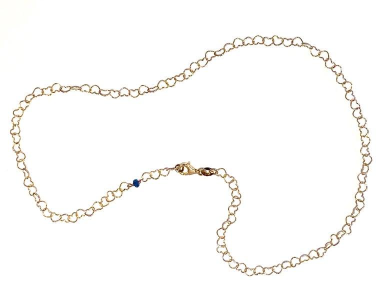 Romantic Style 18Karat Yellow Gold 0.51Karat Sapphire