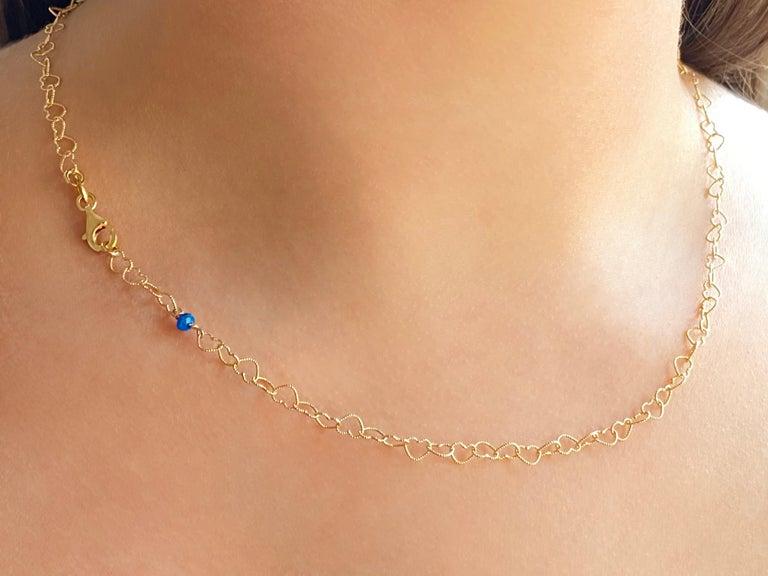 Women's Romantic Style 18Karat Yellow Gold 0.51Karat Sapphire