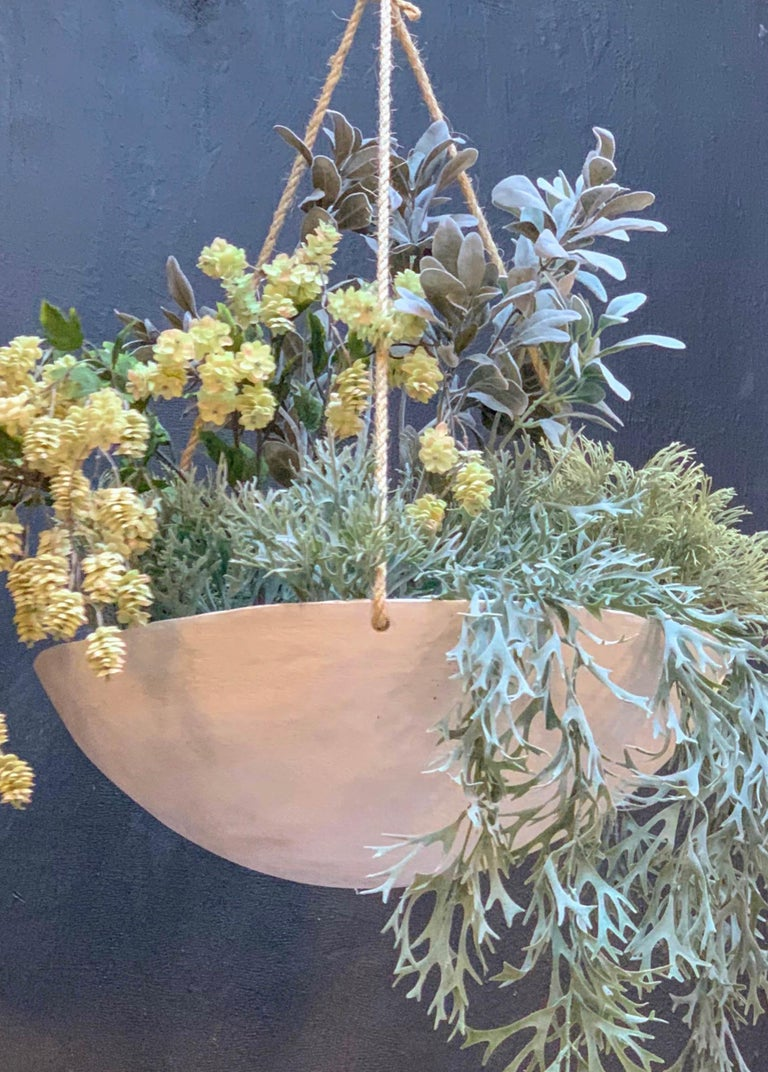 Ukiyo Saucer, Concrete Hanging Planter by OPIARY (D11.5