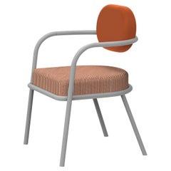 Ula Orange Chair by Serena Confalonieri