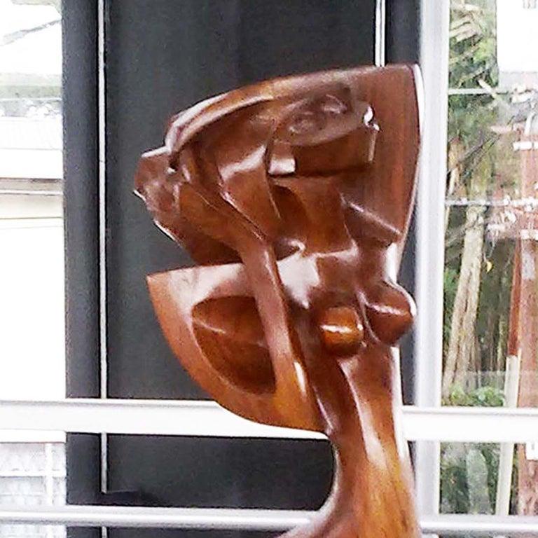 Rebecca - Sculpture by Ulises Jimenez Obregon