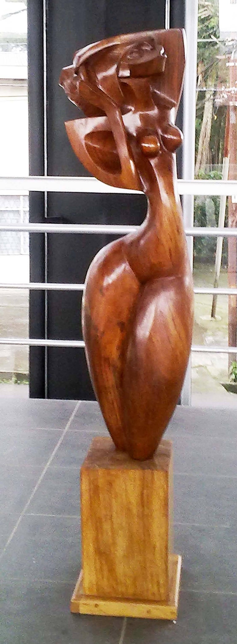 Ulises Jimenez Obregon Nude Sculpture - Rebecca