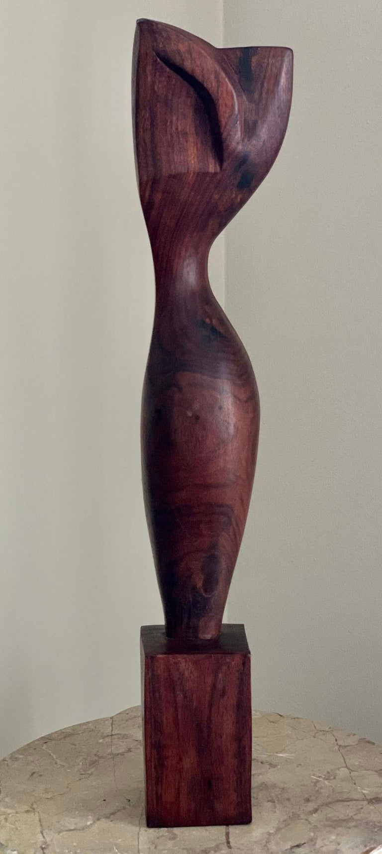 STANDING NUDE - Sculpture by Ulises Jimenez Obregon