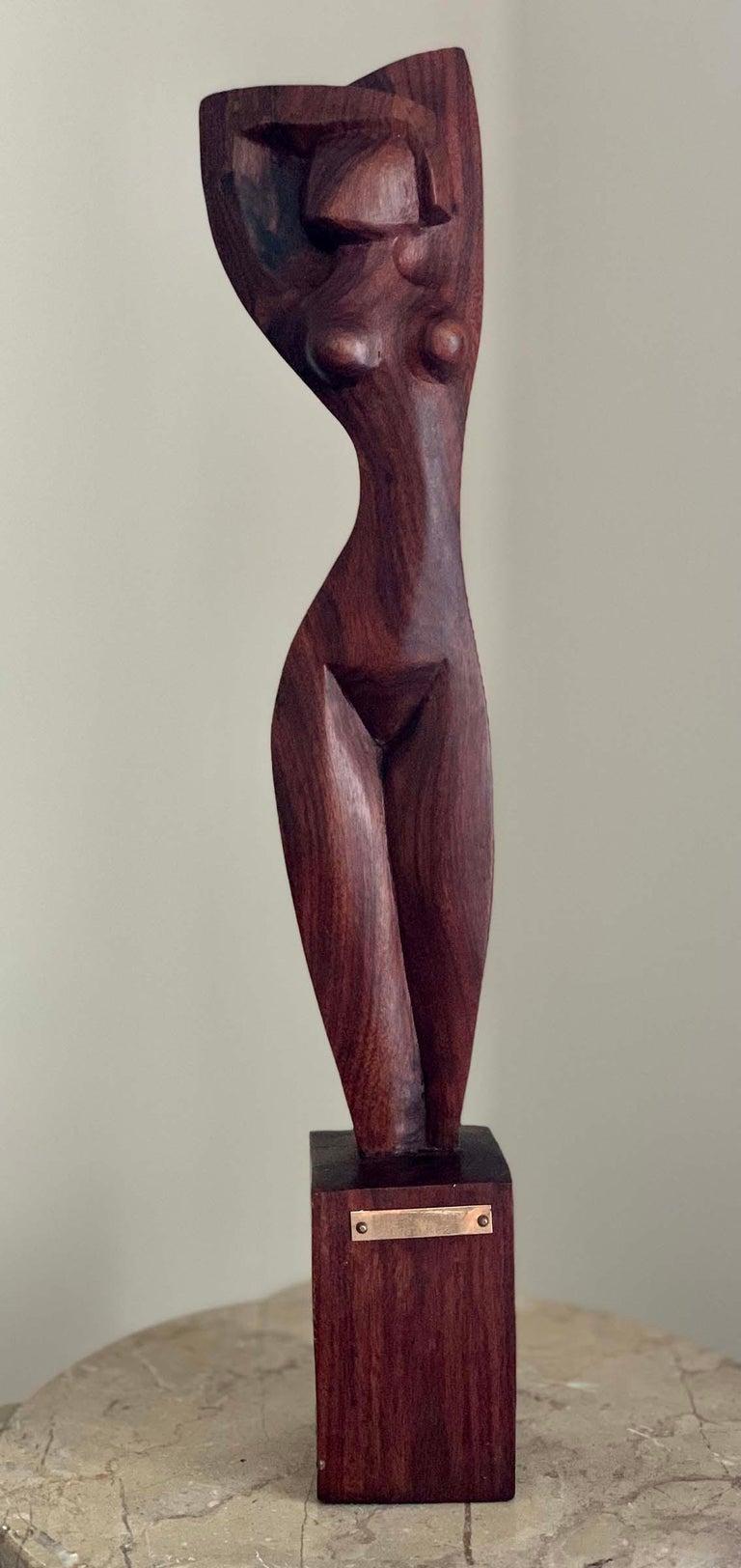 Ulises Jimenez Obregon Nude Sculpture - STANDING NUDE