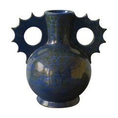 Ulisse Cantagalli Majolica Vase