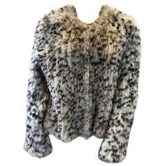 Ulla Johnson Knit Rabbit Fur Jacket NWT