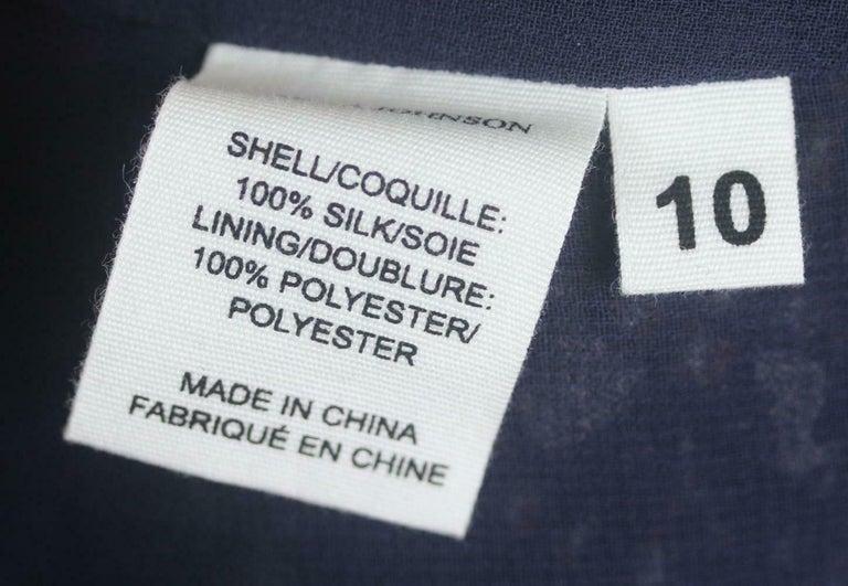 Ulla Johnson Natalia Ruffled Printed Fil Coupé Silk Mini Dress For Sale 1