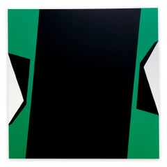 Cut-Up Canvas 2001 (Abstract painting)