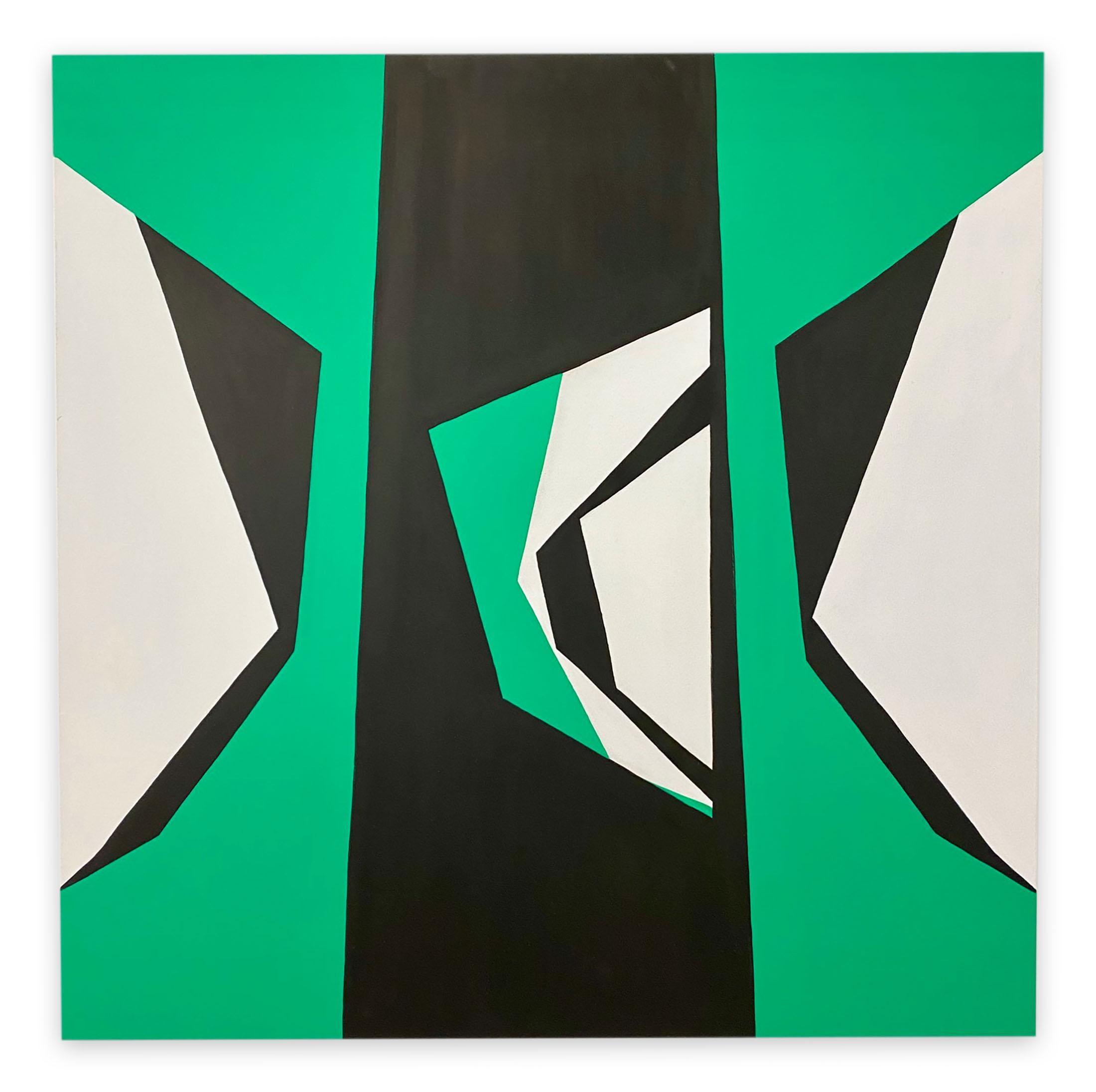 Cut-Up Canvas 2002 (Abstract painting)