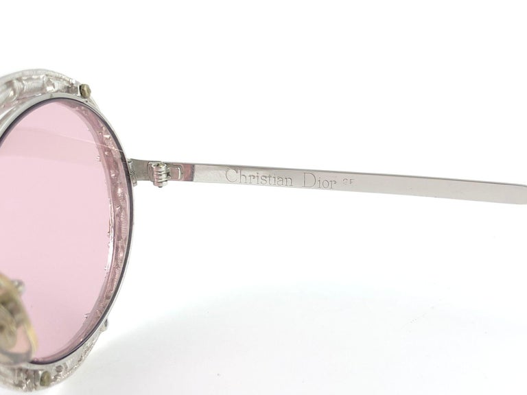 Ultra Rare 1960 Christian Dior Crystalline Accented Archive Dior Sunglasses For Sale 11