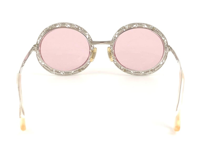 Women's Ultra Rare 1960 Christian Dior Crystalline Accented Archive Dior Sunglasses For Sale