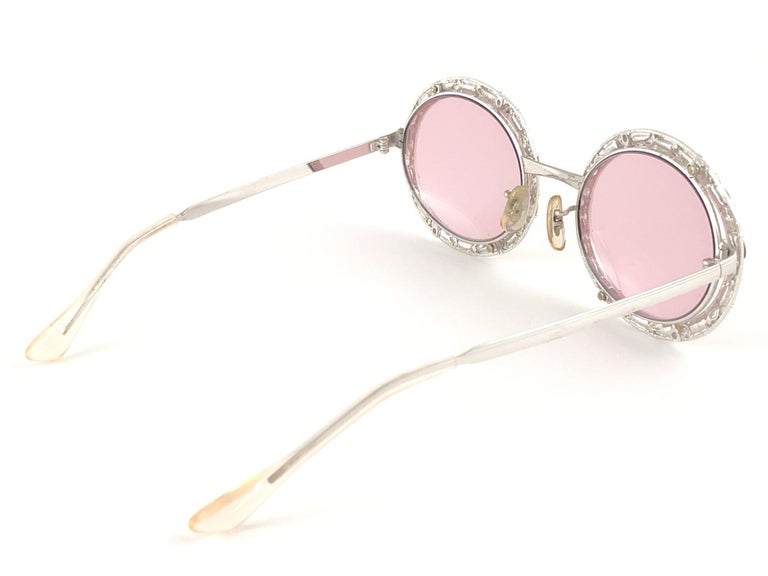 Ultra Rare 1960 Christian Dior Crystalline Accented Archive Dior Sunglasses For Sale 1