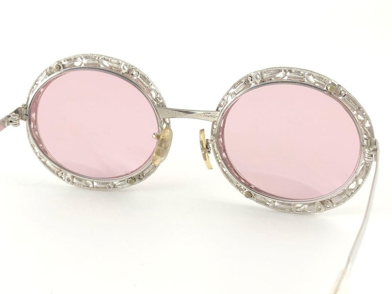 Ultra Rare 1960 Christian Dior Crystalline Accented Archive Dior Sunglasses For Sale 2