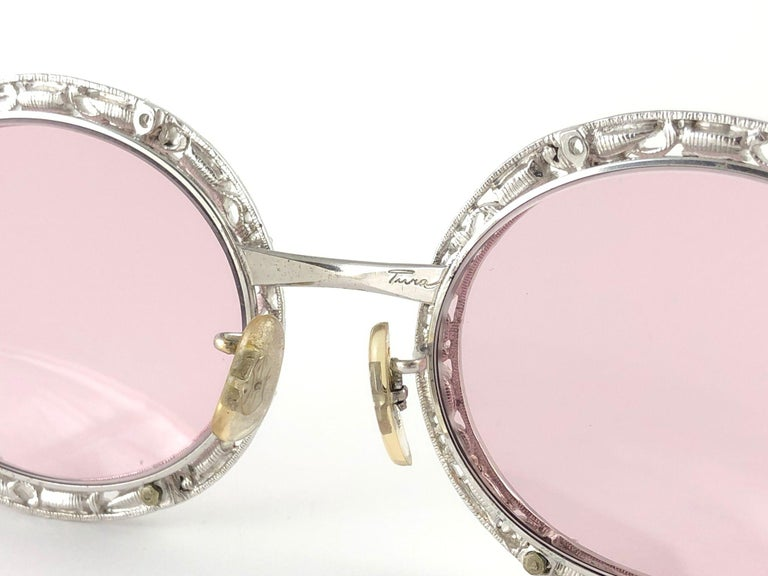 Ultra Rare 1960 Christian Dior Crystalline Accented Archive Dior Sunglasses For Sale 3