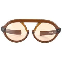 Ultra Rare 1960'S Christian Dior Pre Optyl Amber Jardin Dior Sunglasses Austria