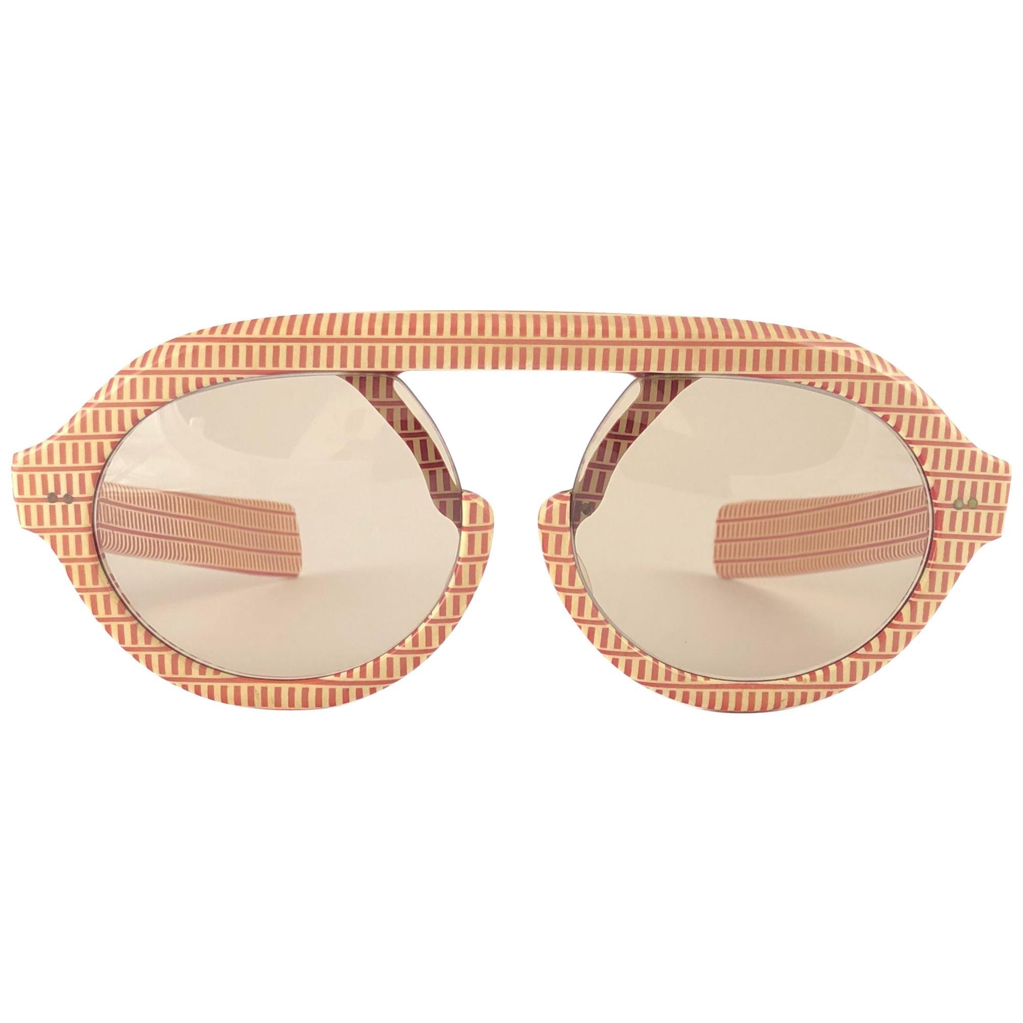 Ultra Rare 1960'S Christian Dior Pre Optyl Print Archive Dior Sunglasses Austria