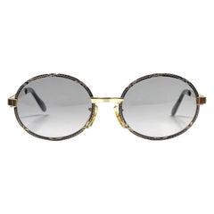 Ultra Rare 1970's Tura Rimless Silver Light Lenses Sunglasses