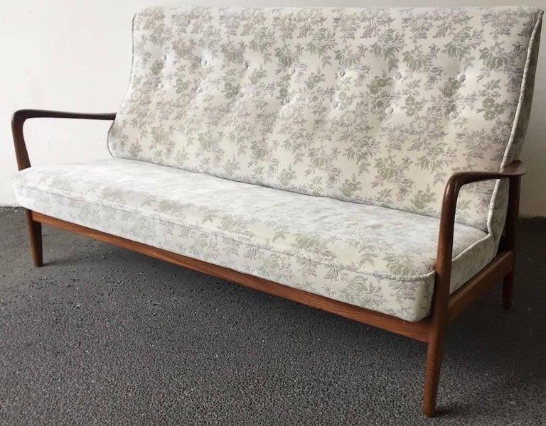 Italian Ultra Rare Gio Ponti Sofa For Sale