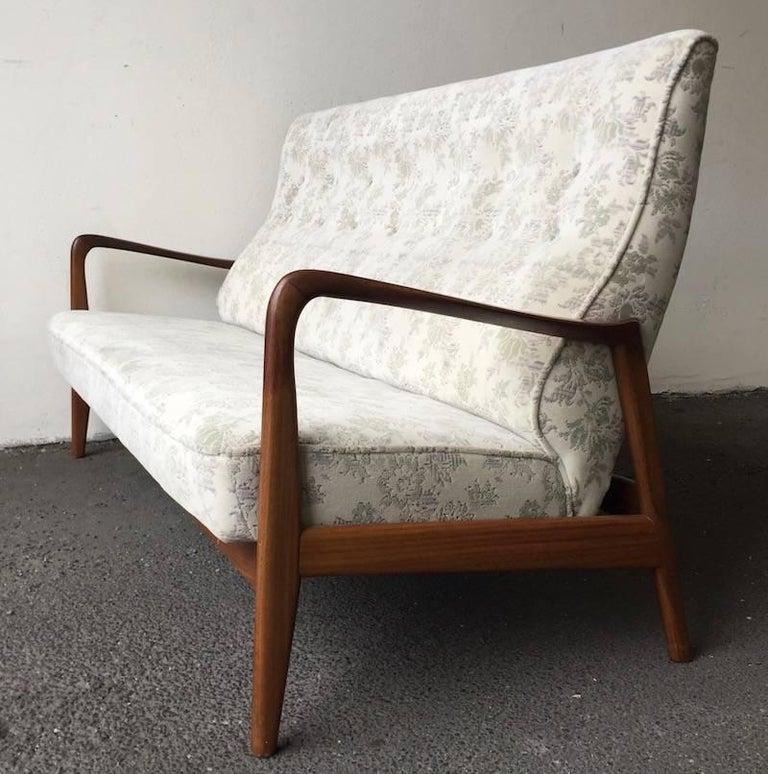 Mid-20th Century Ultra Rare Gio Ponti Sofa For Sale