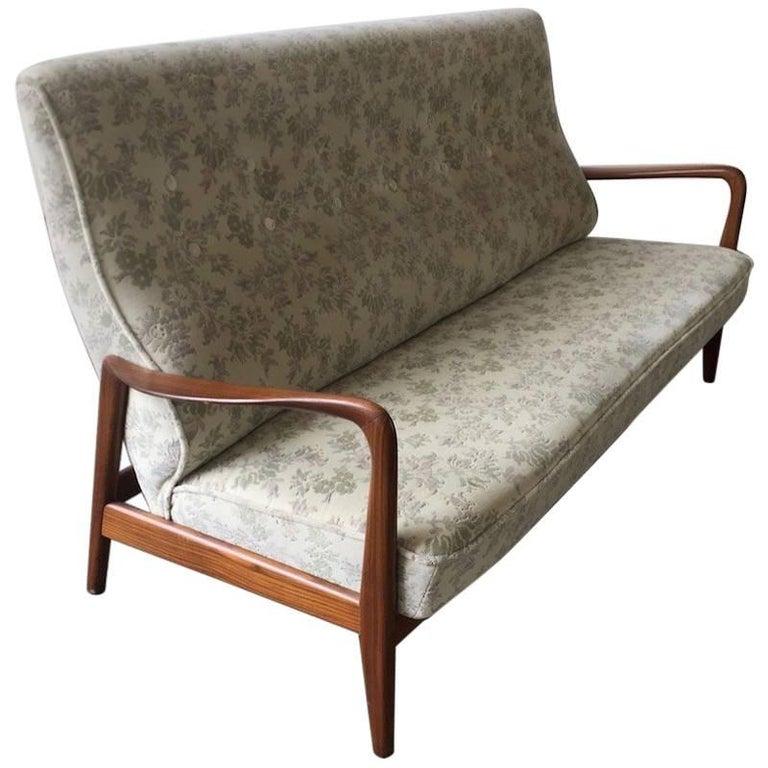 Ultra Rare Gio Ponti Sofa For Sale