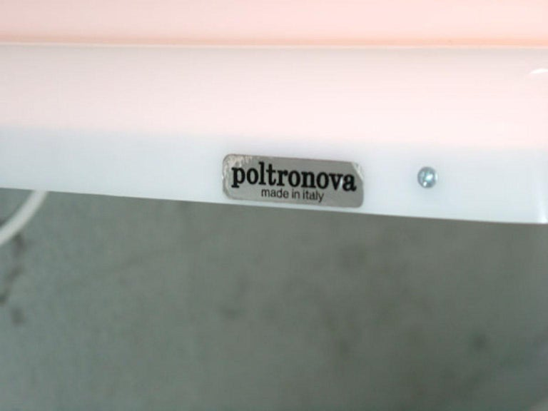 Modern Ultrafragola Mirror/Lamp by Ettore Sottsass for Poltronova, Italy For Sale