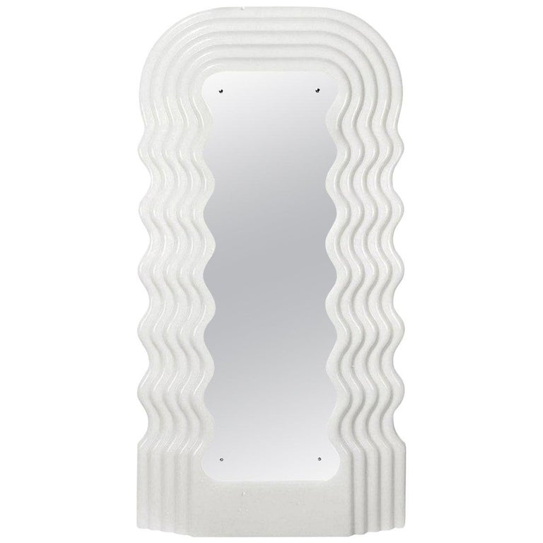 Ultrafragola Mirror/Lamp by Ettore Sottsass for Poltronova, Italy For Sale