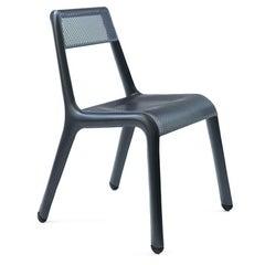 Ultraleggera Anodic Black Color Aluminum Seating by Zieta