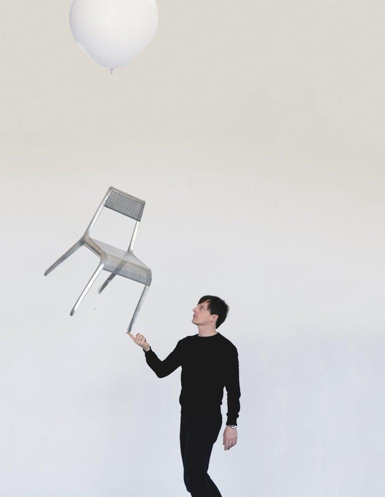 Ultraleggera chair by Zieta Prozessdesign Aluminum 1600 grams Measures: H 77cm, W 58cm, D 60cm