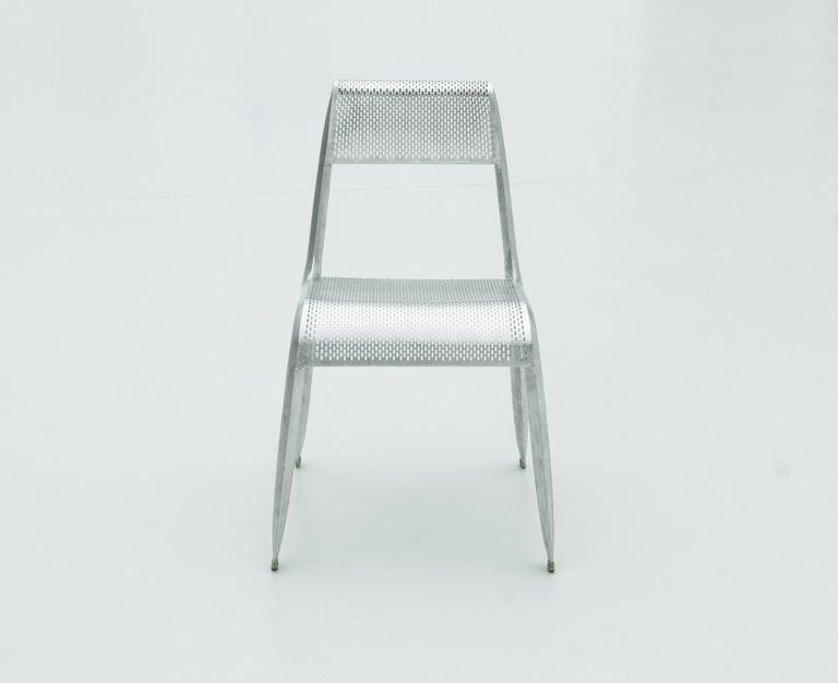 Stainless Steel Ultraleggera Chair by Zieta Prozessdesign For Sale