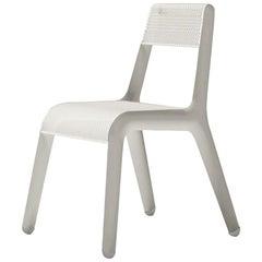 Ultraleggera Polished White Matt Color Aluminum Seating by Zieta