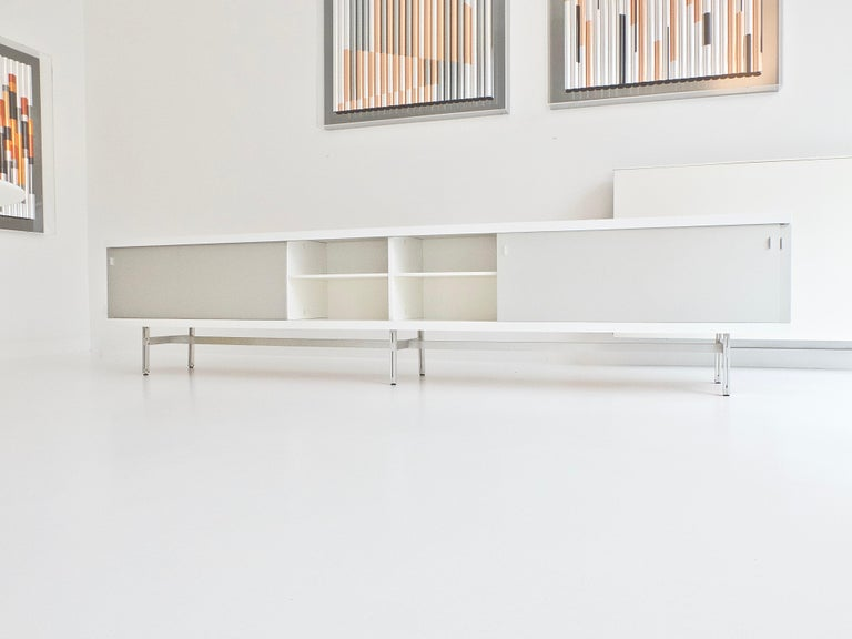 Ultralong sideboard model 1730 by Horst Brüning for Behr Production KG, 1967 For Sale 4