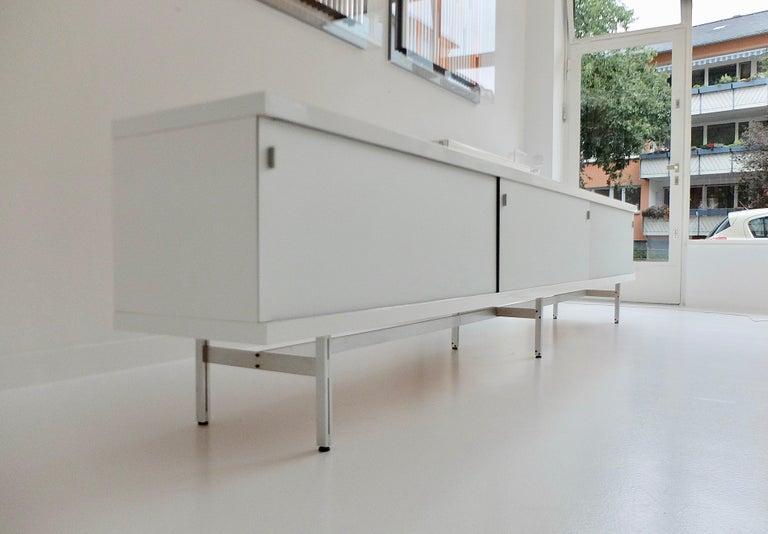 Mid-Century Modern Ultralong sideboard model 1730 by Horst Brüning for Behr Production KG, 1967 For Sale