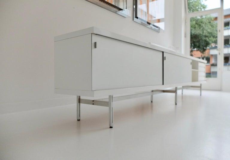 Ultralong sideboard model 1730 by Horst Brüning for Behr Production KG, 1967 For Sale 1